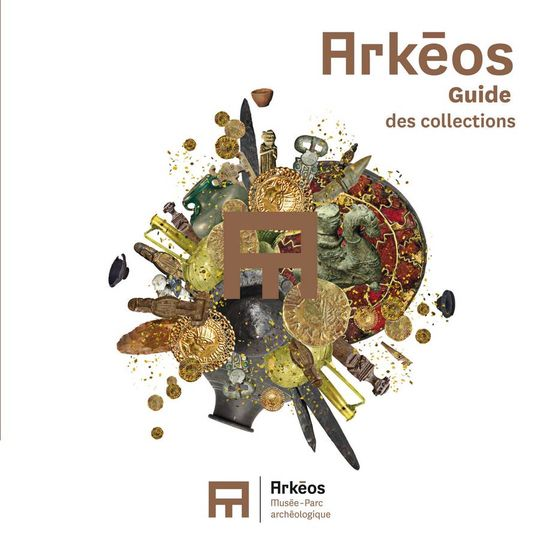 Arkéos. Guide des collections, 2015, 144 p., 208 ill. coul., broché